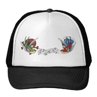 Humming Birds Tattoo Hat