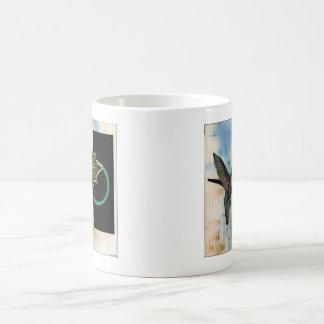 Humming Over Coffee Classic White Coffee Mug