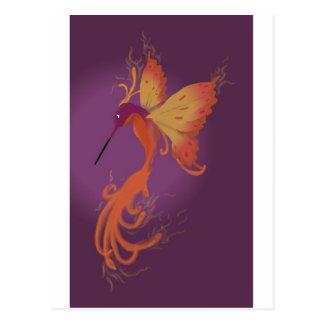 Humming Phoenix Postcard