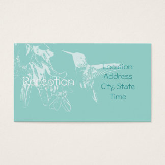 Humming Reception Invite