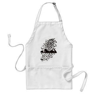 Humming_Tunes Adult Apron