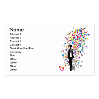 Humming_Tunes Business Card