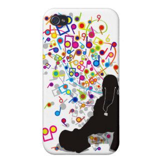 Humming_Tunes iPhone 4/4S Case