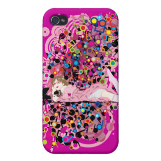 Humming_Tunes iPhone 4/4S Cover