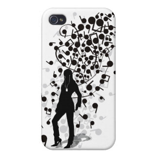 Humming_Tunes iPhone 4 Covers
