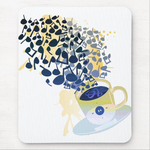 Humming_Tunes Mouse Pad
