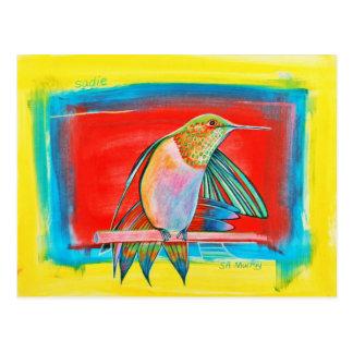 HUMMINGBIRD  ©2010 SylviART™ Post Cards