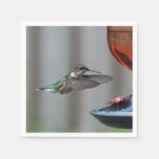 Hummingbird 227 napkin