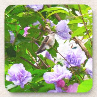 Hummingbird 2 Cork Coaster