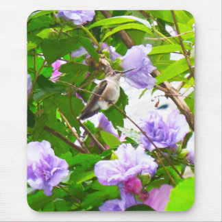 Hummingbird 2 Mouse Pad (Vertical)