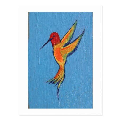 Hummingbird 2 postcard