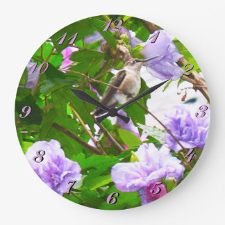 Hummingbird 2 Wall Clock