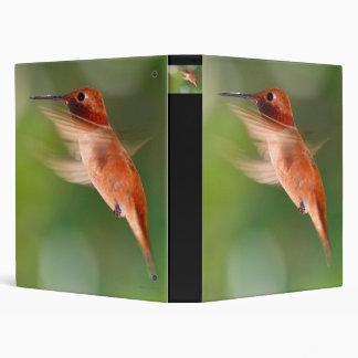 hummingbird 3 ring binder