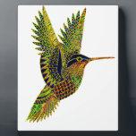 "Hummingbird 7b plaque<br><div class=""desc"">Hummingbird flying on a sunny day</div>"