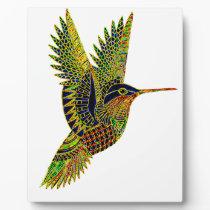 Hummingbird 7b plaque