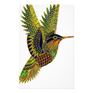 Hummingbird 7b stationery