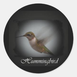 Hummingbird-AA Classic Round Sticker