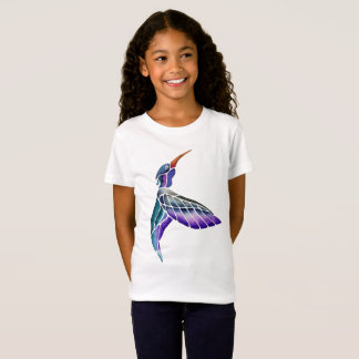 Hummingbird Abstract Watercolor T-Shirt