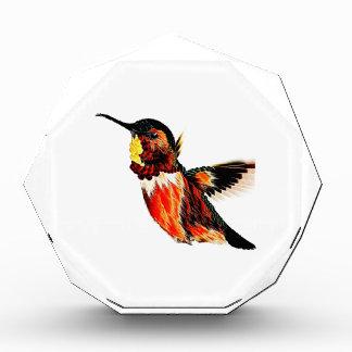 Hummingbird Acrylic Award