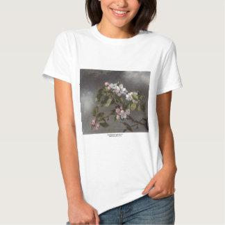 Hummingbird and Apple Blossoms Martin J. Heade T Shirt