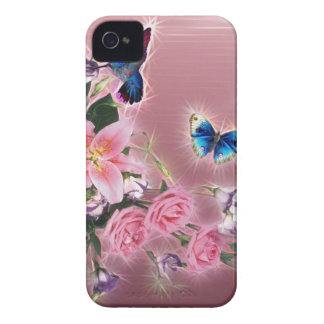 Hummingbird and Butterflies iPhone 4 Cover
