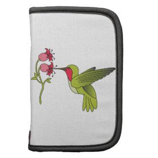 Hummingbird and Flower Organizers