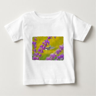 Hummingbird and Mexican Sage Baby T-Shirt