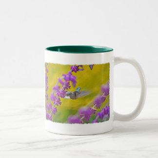 Hummingbird and Mexican Sage Coffee Mugs