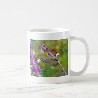 Hummingbird and Mexican Sage II Classic White Coffee Mug