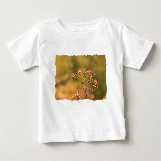Hummingbird and Pink Flowers Shirt