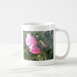 Hummingbird and Rose of Sharon Coffee Mug