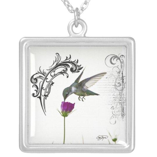 Hummingbird Angel Wings Necklace