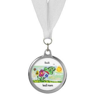 hummingbird art  two medal