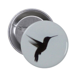 Hummingbird At Dusk Pinback Button