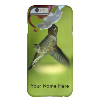 Hummingbird at Feeder Barely There iPhone 6 Case