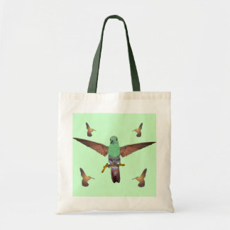 Hummingbird Budget Tote Bag
