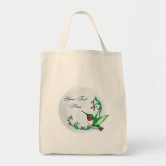Hummingbird Bag Template