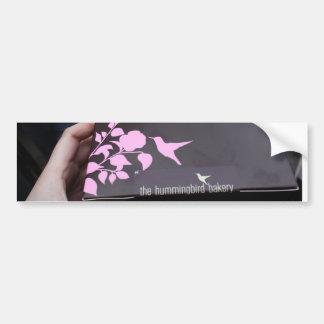 Hummingbird Bakery Car Bumper Sticker