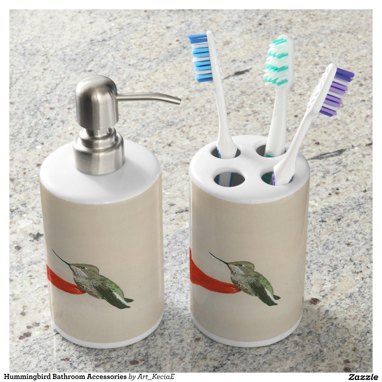 Amazoncom Hummingbird Bathroom Decor
