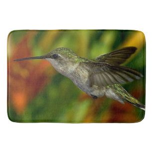 Hummingbird Bathroom, Kitchen Rug Mat Home Decor