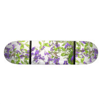 Hummingbird Bird Animal Wildlife Floral Skateboard Deck