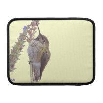 Hummingbird Bird Floral Wildlife Animal Flower MacBook Air Sleeve