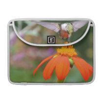 Hummingbird Bird Floral Wildlife Animal Flower Sleeve For MacBook Pro