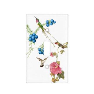 Hummingbird Bird Flower Floral Light Switch Cover
