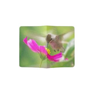 Hummingbird Bird Flower Floral Passport Holder