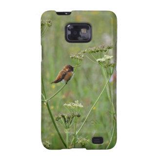 Hummingbird: Bird in Flowers Samsung Galaxy S2 Case
