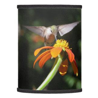 Hummingbird Bird Sunflower Flower Floral Garden Lamp Shade