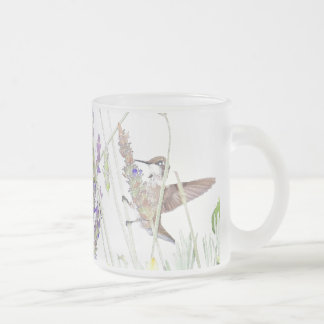 Hummingbird Bird Wildlife Animal Flower Mug