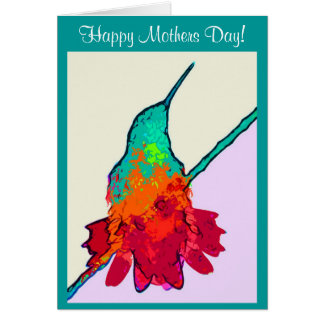 Hummingbird Birds Animals Wildlife Mothers Day