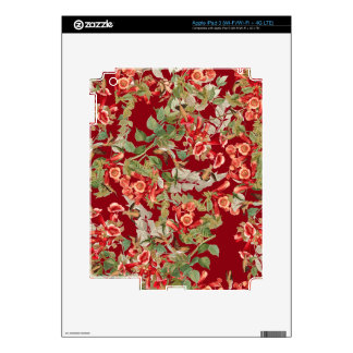 Hummingbird Birds Audubon Wildlife Flowers Floral Decals For iPad 3